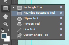Photoshop Rounded Rectangle Tool